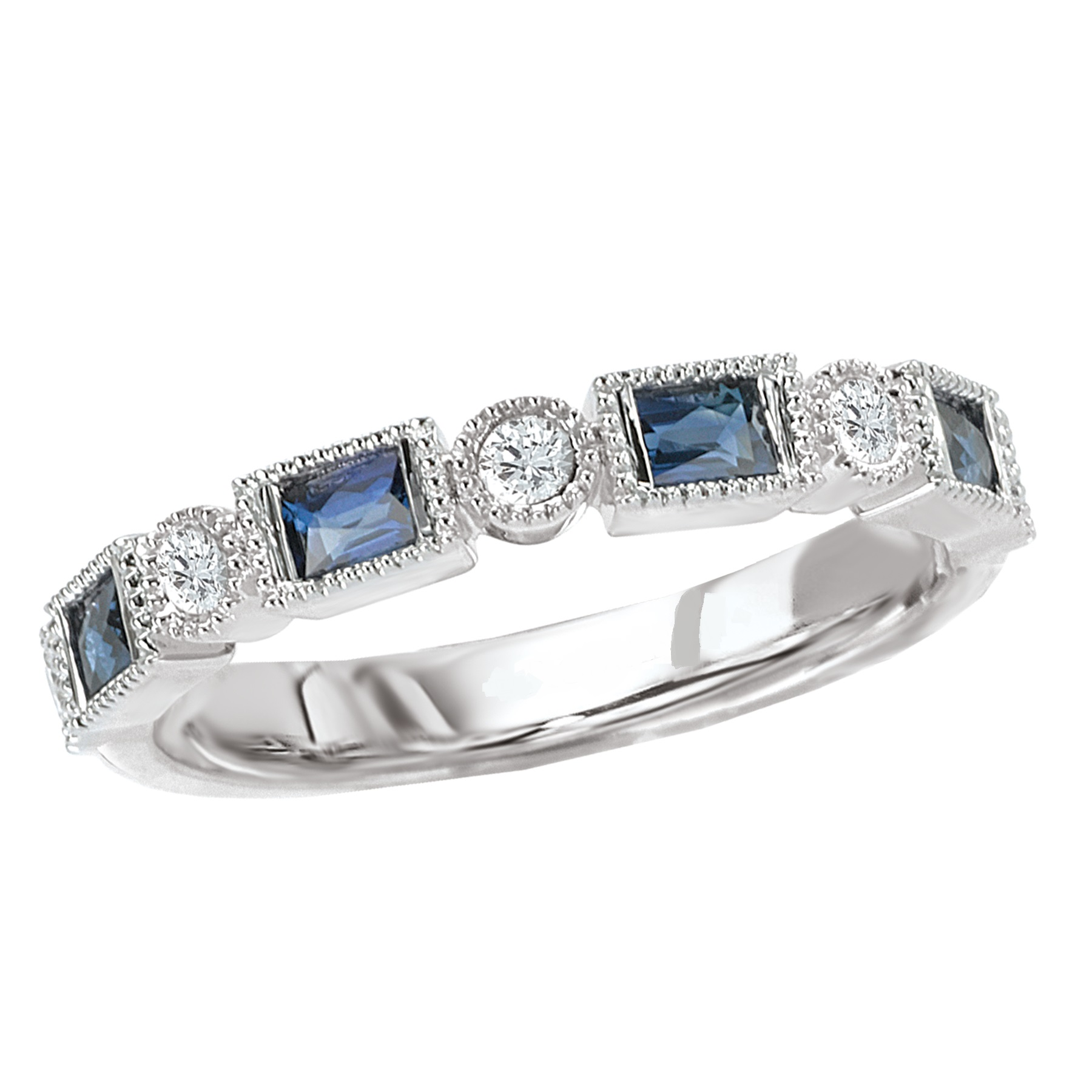 Ladies Wedding Band by Romance Diamond