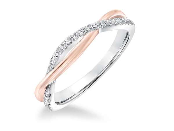 Ladies Wedding Band by Frederick Goldman