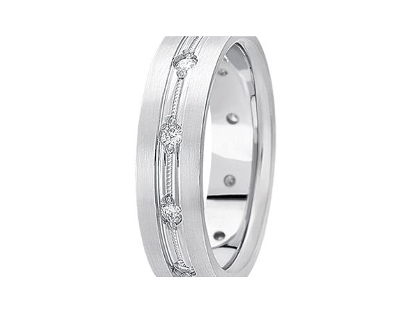 Gents 1/2 ctw Diamond Band by Unique settings