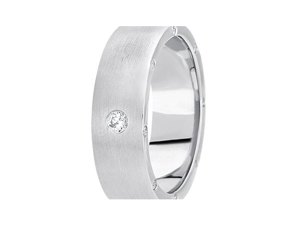 1/4 ctw Diamond Band by Unique settings