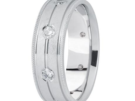 1/2 ctw Diamond Band by Unique settings
