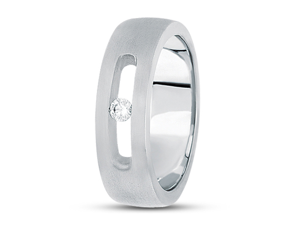 Modern 1/10 ctw Diamond Band by Unique settings