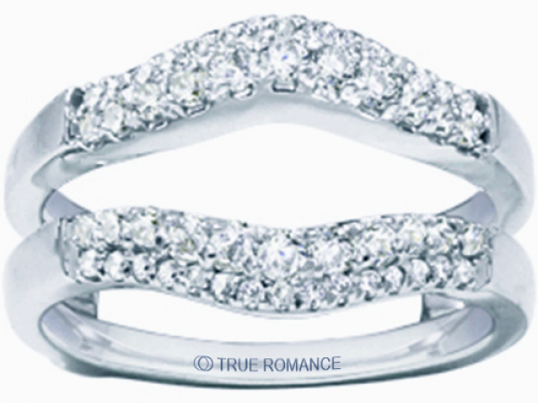 Diamond Wrap Rings by True Romance