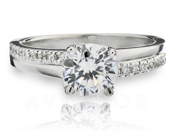 Avigdor Signature Engagement Ring by Avigdor