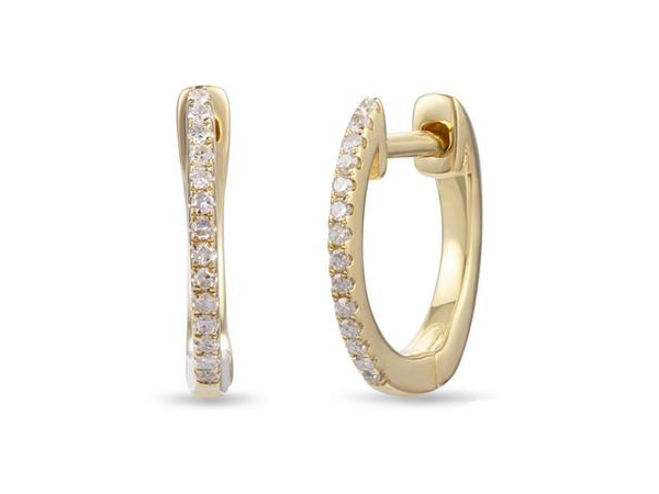 Diamond Earrings by Luvente