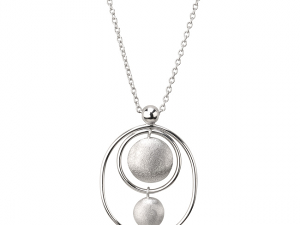 Silver Necklaces by Frederic Duclos