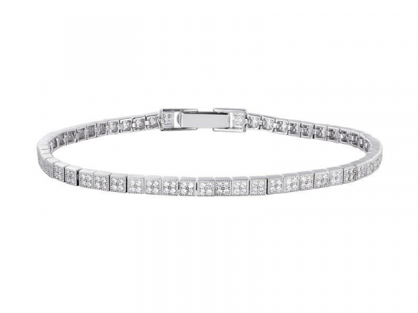 2-1/3 Carat Simulated Diamond Inline Bracelet by Lafonn