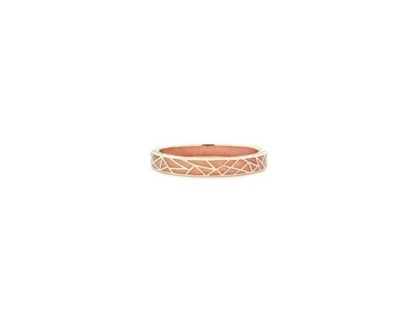 Color Block Bangle Peach by Andrew Hamilton Crawford