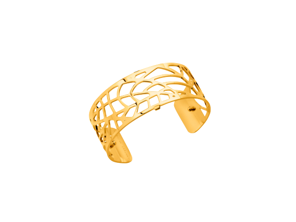 Fougere 25mm Gold Finish Bracelet by Les Georgettes