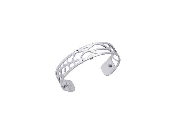 Fougere 14mm Silver Finish Bracelet by Les Georgettes