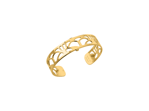 Arcade 14mm Gold Finish Bracelet by Les Georgettes
