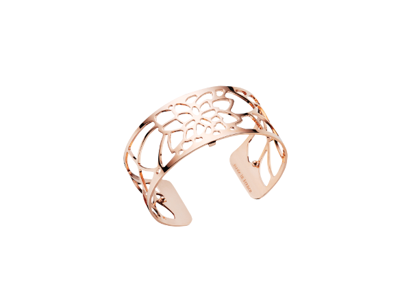 Nenuphar 25mm Rose Gold Finish Bracelet by Les Georgettes
