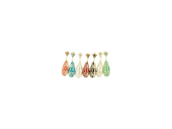 Pillar Drop Earring in Turquoise by Andrew Hamilton Crawford