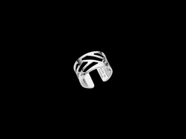 Ruban 12mm Silver Finish Ring by Les Georgettes
