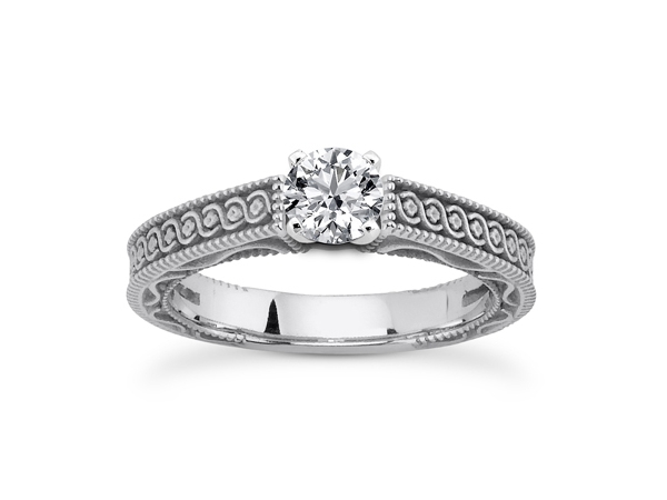 Gorgeous Affordable Vintage Engagement Ring Styles The Ring Blog